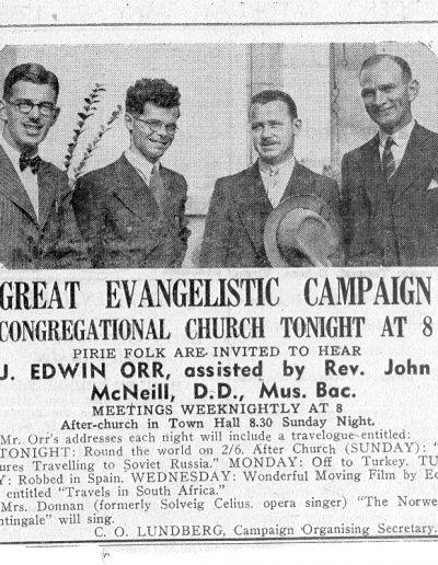 evangelistic campaign j edwin orr
